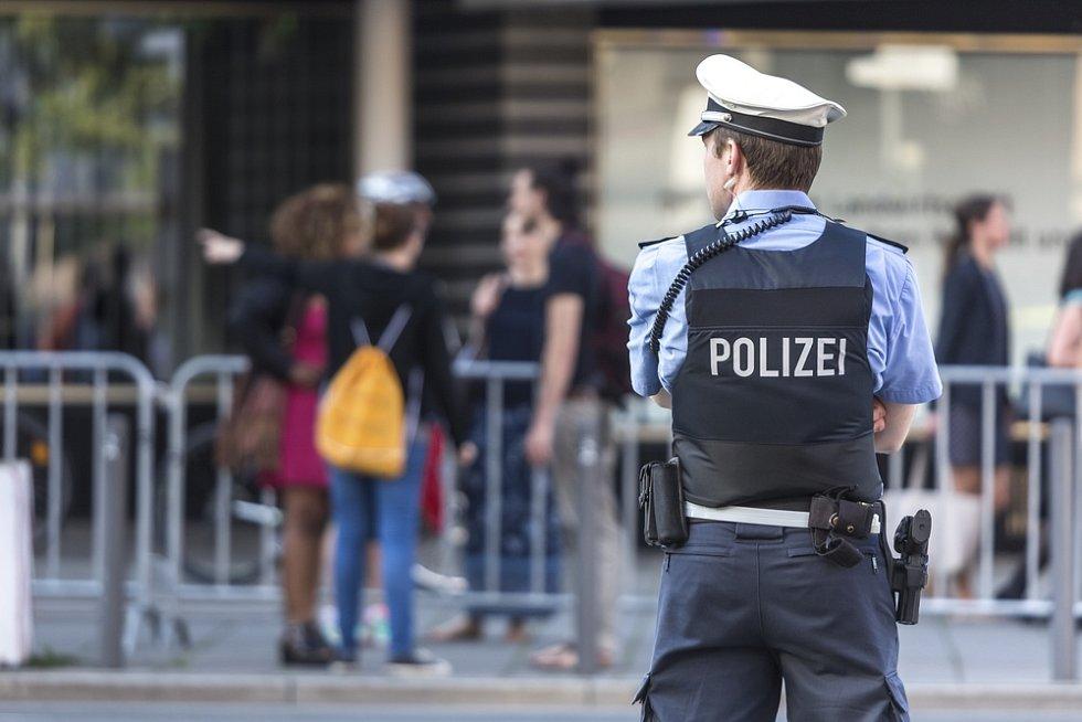 Německá policie. Ilustrační foto.