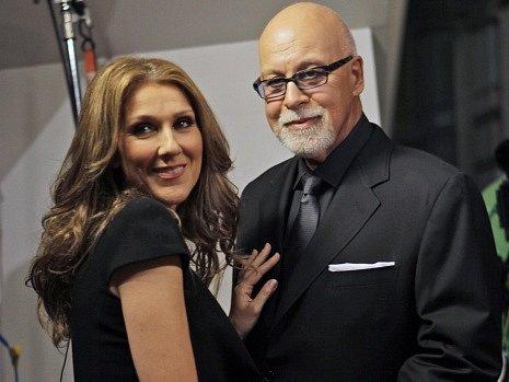 Céline Dion a její manžel René Angelil.