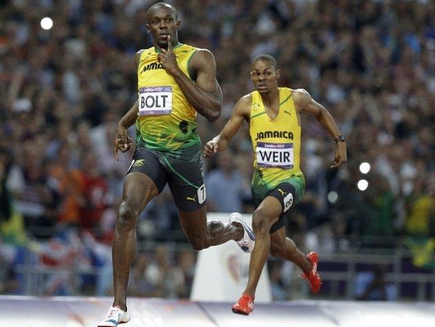 Usain Bolt s přehledem vyhrál na olympijských hrách běh na 200 metrů.