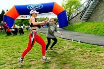 Eva potůčková na nejtěžším duatlonovém závodě ve střední Evropě Krušnomanovi.