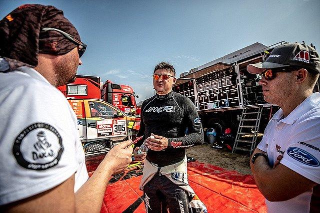 Martin Prokop na Rallye Dakar 2019.