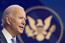 Vítěz amerických prezidentských voleb Joe Biden na snímku z 11. prosince 2020