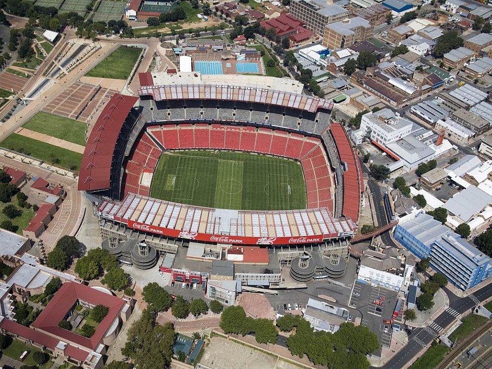 Ellis Park Stadium – Johannesburg. Kapacita: 61 639.