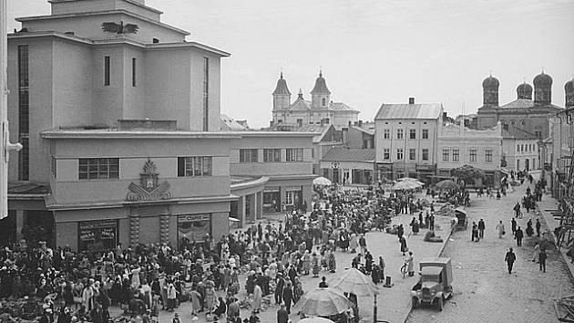 Náměstí ve Stanislavově