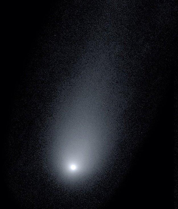 Záhadná kometa, pojmenovaná po svém objeviteli Gennadiji Borisovi jako 2I/Borisov