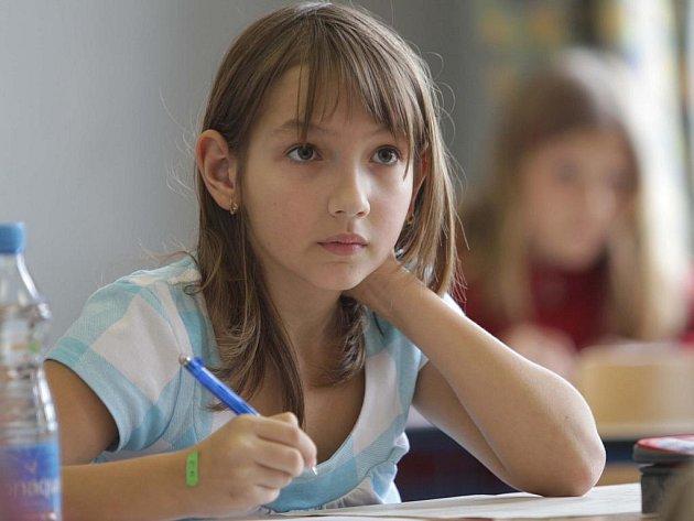 Zkoušky na víceleté gymnazium skládali studenti také na českobudějovickém gymnaziu v České ulici.