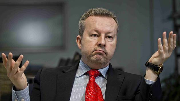 Ministr životního prostředí Richard Brabec.
