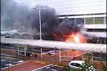 Útok v Glasgowě vyfotili očití svědci mobilem, snímek poslali BBC