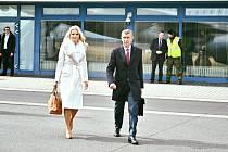 Andrej Babiš s manželkou odletěli do Spojených států