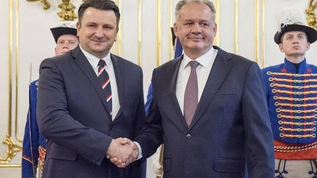 Andrej Kiska a Tomáš Tuhý (zprava)