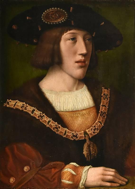 Španělský král Karel v době, kdy schválil Magalhãesovu výpravu - v té době mu bylo teprve osmnáct