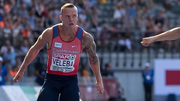 Český sprintér Jan Veleba.