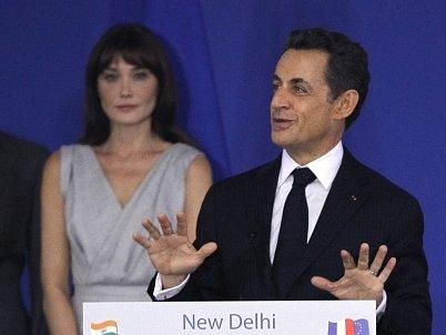 Carla Bruni a Nikolas Sarkozy