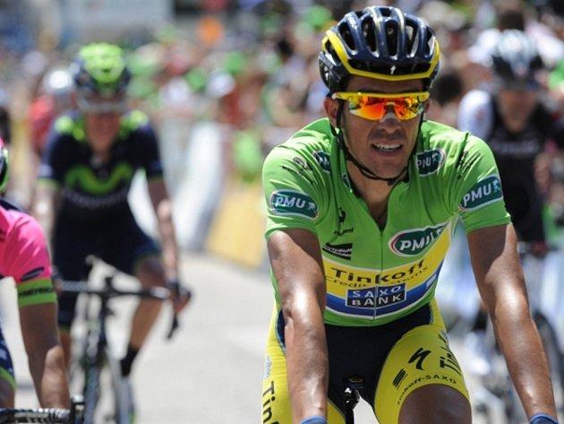 Alberto Contador se po královské etapě Critérium du Dauphiné dostal do vedení.