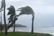 Tropická bouře, tajfun, hurikán - ilustrační snímek