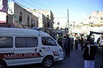 Výbuch v Saná si vyžádal několik lidských životů.