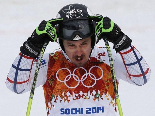 Ondřej Bank se blýskl v superobřím slalomu na olympijských hrách v Soči devátým místem.