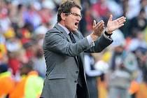 Fabio Capello v akci.
