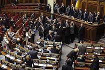 Ukrajinský parlament. Ilustrační foto