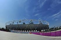 Olympijský stadion v Londýně.