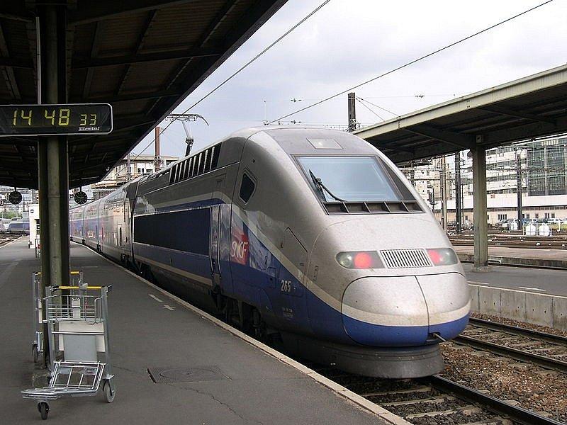 Francouzské rychlovlaky TGV