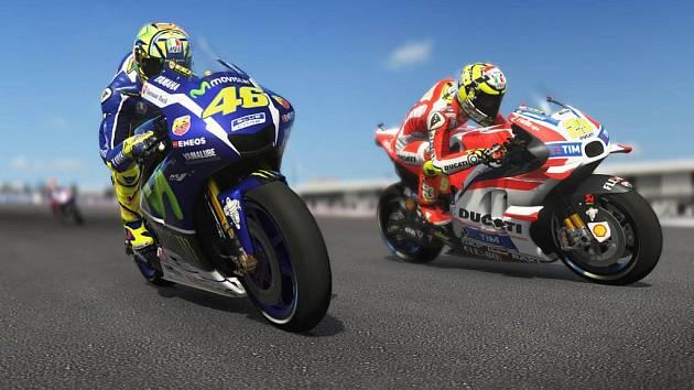 Počítačová hra Valentino Rossi The Game.