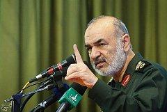 Zástupce velitele revoluční gardy Hosejn Salámí