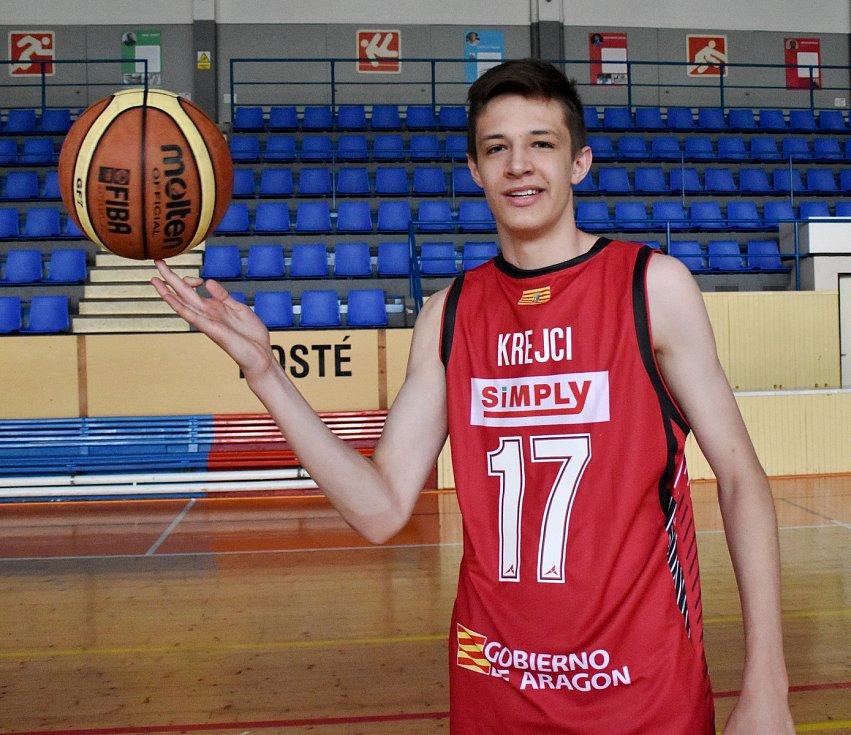 Basketbalista Vít Krejčí