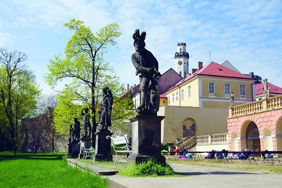 Klášterec nad Ohří. Hlavním tahákem města je jeho historické jádro.