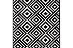 Černobílý koberec Hanse Home Art.