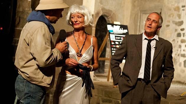 Zahájení přehlídky Noir Film Festival.