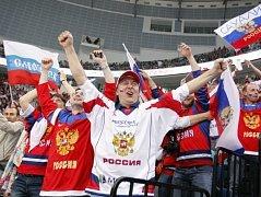 Rusko - Finsko: Nejen fanoušci z Ruska měli navrch