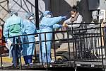 Testování na koronavirus v New Yorku