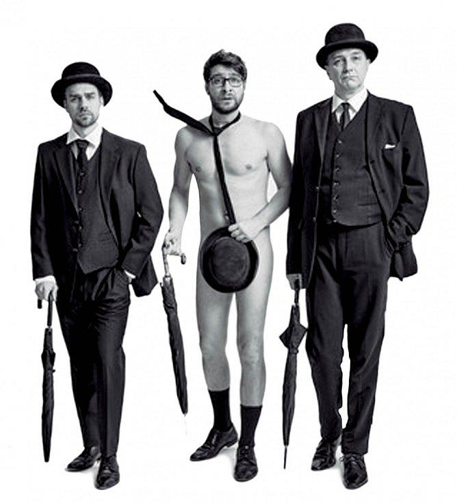 Plakát k představení Divadla v Dlouhé – Bez roucha