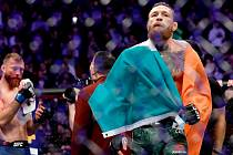 Zápasník UFC Conor McGregor (vpravo).