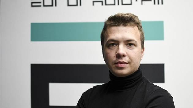 Běloruský novinář a opoziční aktivista Raman Pratasevič