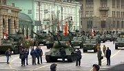 Rusko pořádá vojenskou přehlídku