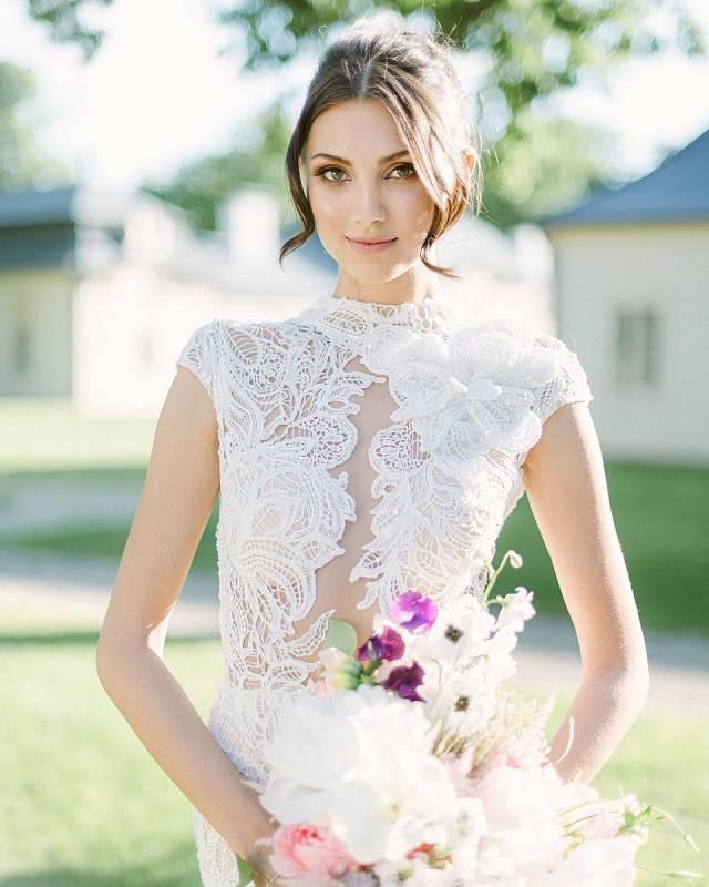 Karolína Kopíncová ve svatebním
