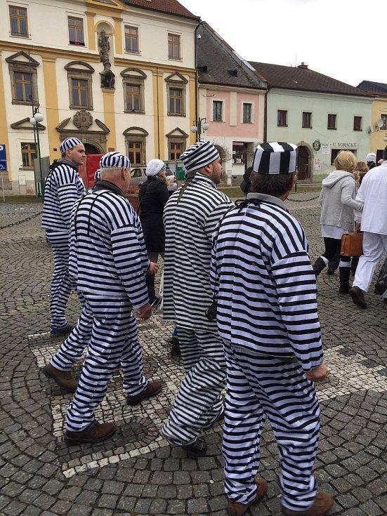 Za nejslavnějšího českého vězně se převlékají i lidé na masopustu