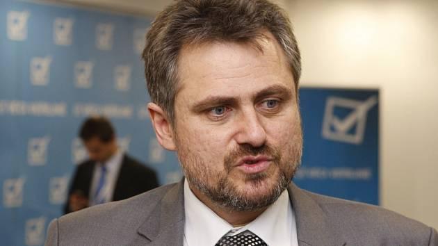 Předseda Věcí veřejných Jiří Kohout.