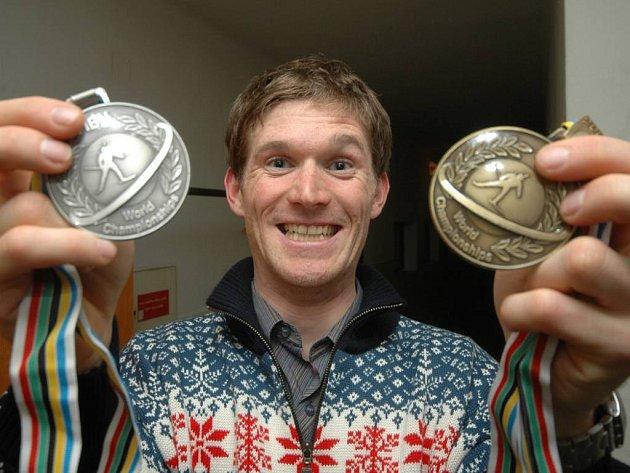 ÚLOVEK. Loni se Michal Šlesingr radoval na MS ze dvou kovů, stříbrného a bronzového. Jak dopadne letos?