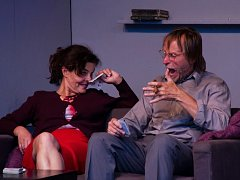 Již třináct let se na jednom jevišti a v  jedné divadelní hře potkávají Karel Roden a Jana Krausová.