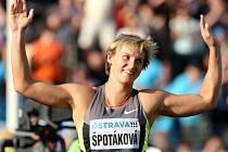 Barbora Špotáková ovládla Zlatou tretru.