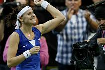 Finále Fed cup, ČR vs. Německo - Lucie Šafárová