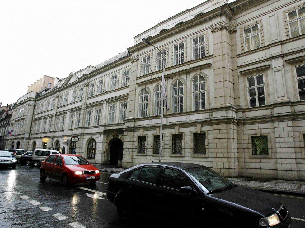 Lidový dům v Praze, sídlo ČSSD. Ilustrační foto