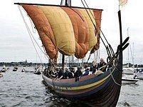 Drakkar dánských experimentátorů je považován za dosud největší a nejambicióznější rekonstrukci vikinské lodě.