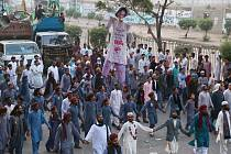 Protesty proti propuštění Asii Bibiové