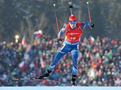 Michal Šlesingr skončil ve sprintu SP v Novém Městě na Moravě pátý.