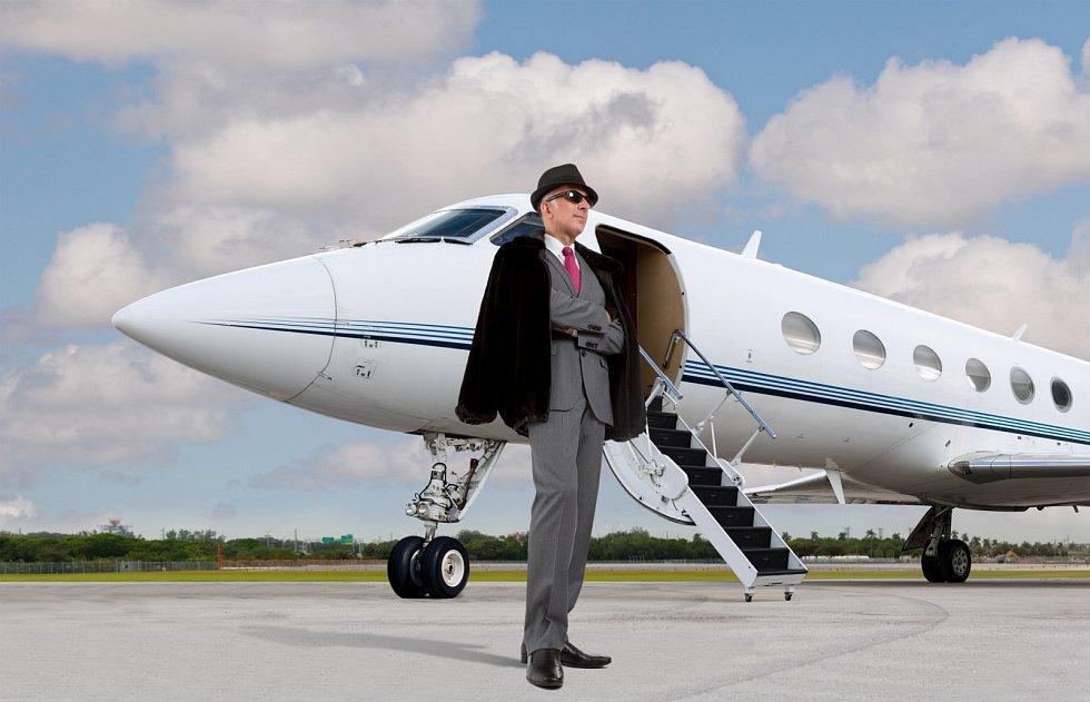Vedle luxusních domů, jachet a automobilů mají nejbohatší lidé světa i své soukromé letadlo.