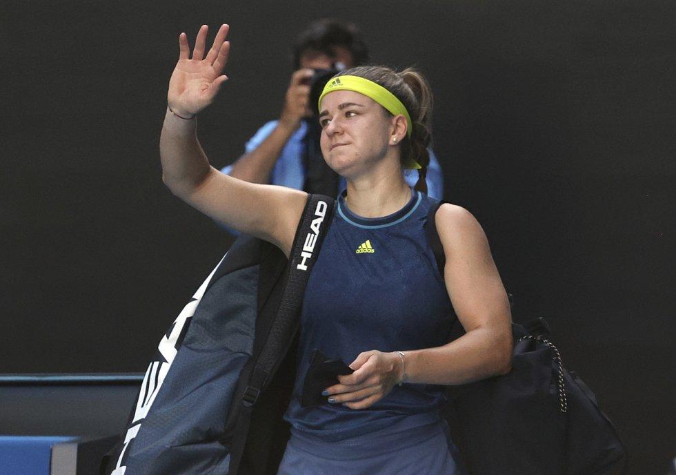 Česká tenistka Karolína Muchová